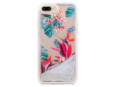 OLD_Jungle Glitter Oasis Snap-on Case iPhone 7 Plus