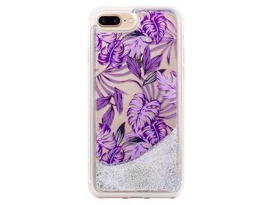 OLD_Jungle Glitter Palmetto in Purple Snap-on Case iPhone 7 Plus