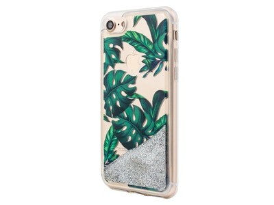 OLD_iPhone Jungle Glitter Palmetto in Green Snap-on Case