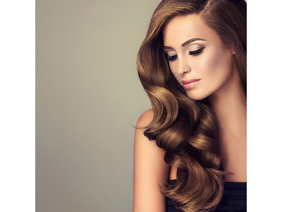 Clip-In Hair Extensions Color 08 Light Brown Wavy (Starter Kit)