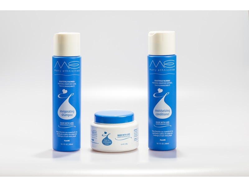 Bundle: Shampoo, Conditioner and Leave-In Conditioning Cream
