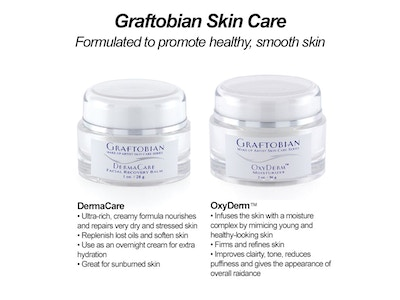 Skincare Set: Oxyderm Moisturizer and Dermacare Recovery Balm