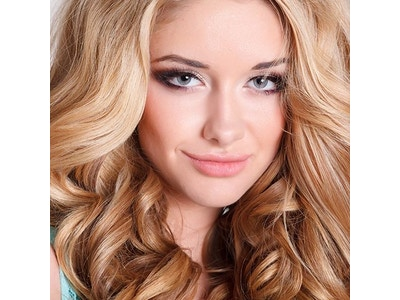 Clip-In Hair Extensions Color 27/613 Blonde Blend Wavy (Starter Kit)