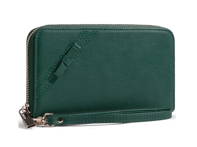 OLD_Valencia in Green Clutch/Wallet