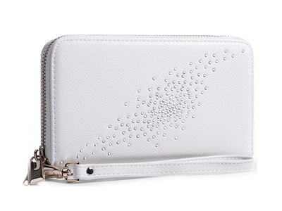 OLD_Constellation in White Clutch/Wallet
