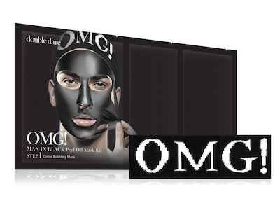 OMG! Man In Black 3in1 Kit + Men's Hair Band (2-Products Bundle)