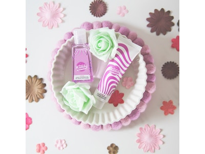 Flower Power Handreinigungsgel & Handcreme Set 🌸
