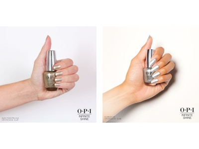 Metallic Duo: OPI's Glow The Extra Mile & Silver On Ice