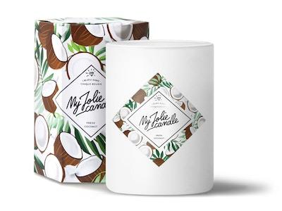Bougie-Collier | Parfum Coconut