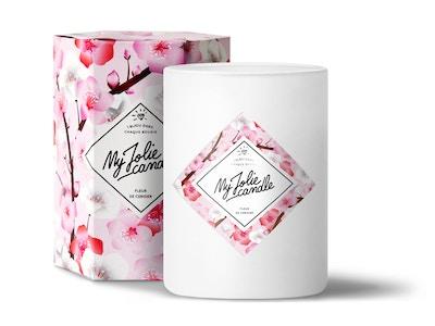 Bougie-Bracelet   Fleur de cerisier