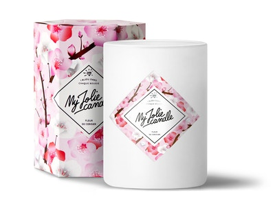 Bougie-Bracelet | Fleur de cerisier