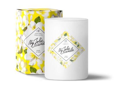 Vela-Pendientes   Perfume Monoï