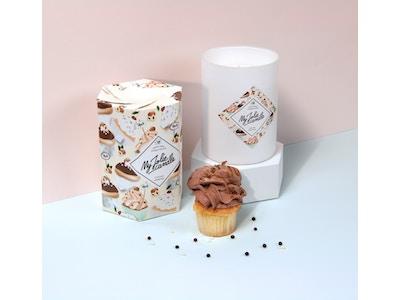 Candela-Orecchini | Cupcake Nocciola