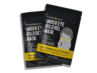 Under Eye Gold Gel Mask, 2ct