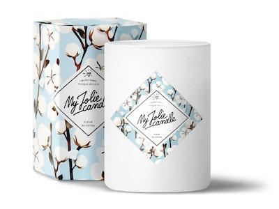 Vela-Anillo   Perfume Flor de Algodón