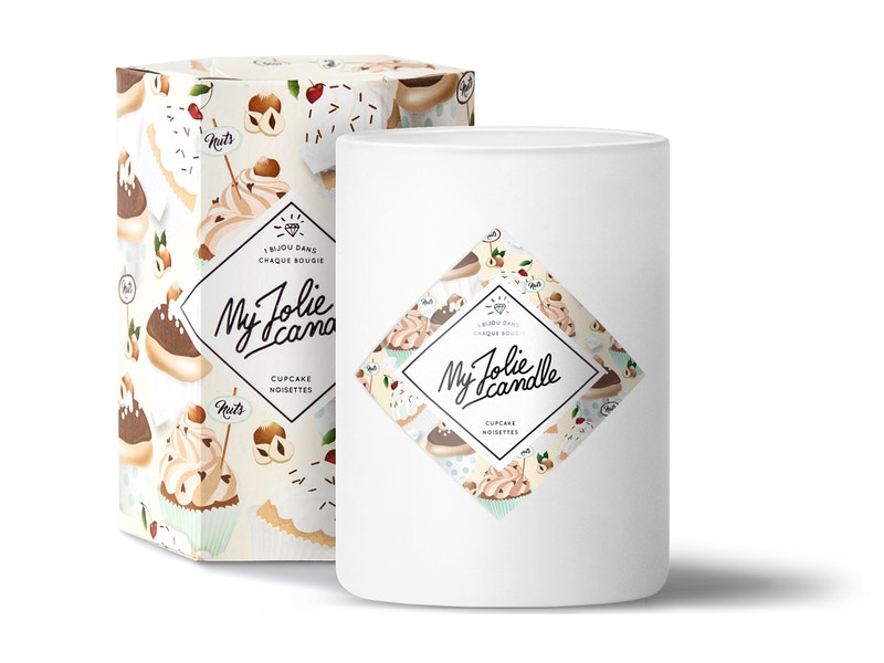 Vela-Collar   Perfume Cupcake