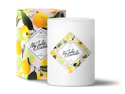 Vela-Anillo | Perfume Té de Bergamota