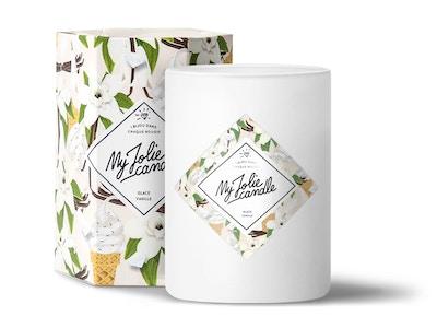 Vela-Anillo   Perfume Vainilla