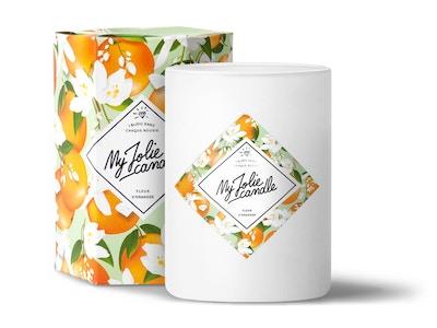 Vela-Pendientes | Perfume Flor de Azahar