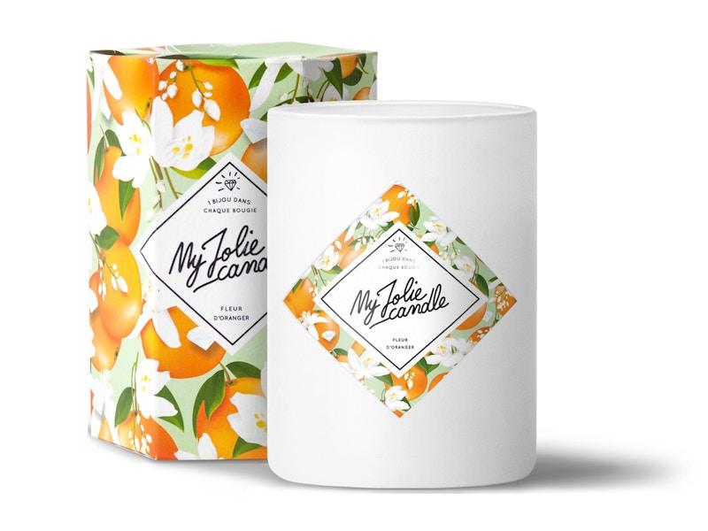 Vela-Pulsera   Perfume Flor de Azahar