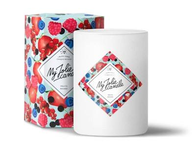 Vela-Anillo | Perfume Frutas Rojas