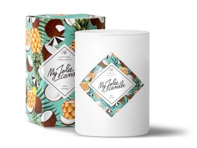 Vela-Pulsera | Perfume Piña Colada