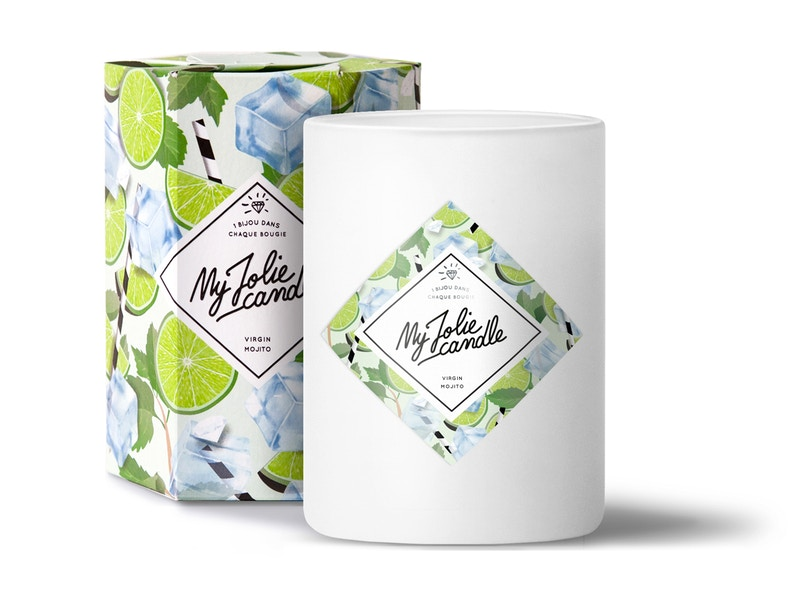 Vela-Anillo | Perfume Virgin Mojito
