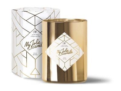 Vela-Anillo GOLD | Perfume Ámbar
