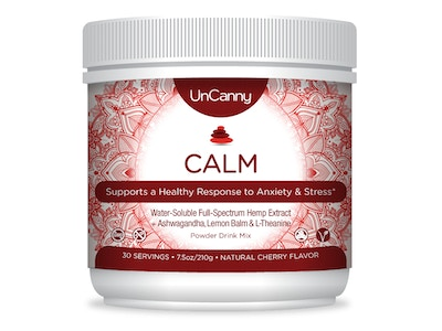 CALM: Anxiety & Stress Drink Blend | CBD Hemp Extract + Ashwagandha, Lemon Balm & L-Theanine