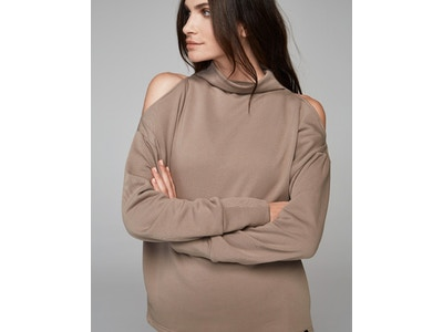 KEYSTONE TAUPE SWEAT