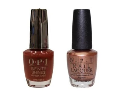 OPI DUO: Sweet Caramel Sunday & Hold Out For More
