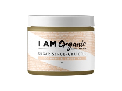 Coconut and Green Tea Sugar Scrub