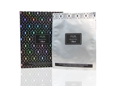 PUR Quick Pro Holographic Hydrating Sheet Mask