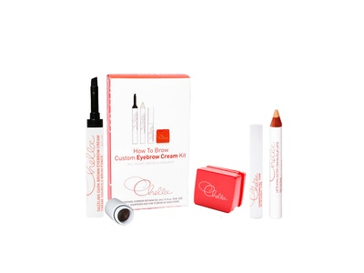 Eyebrow Cream Kit - Dazzling Dark Brown