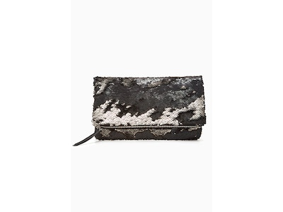 Reversible Sequin Clutch