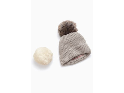 Interchangeable Pom Beanie