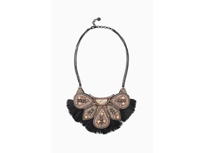 Constantine Feather Necklace