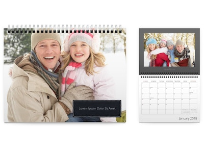 Customizable Photo Calendar