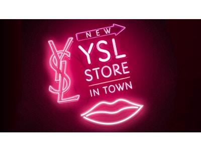 YSL Beauty SoHo Pop Up NYC